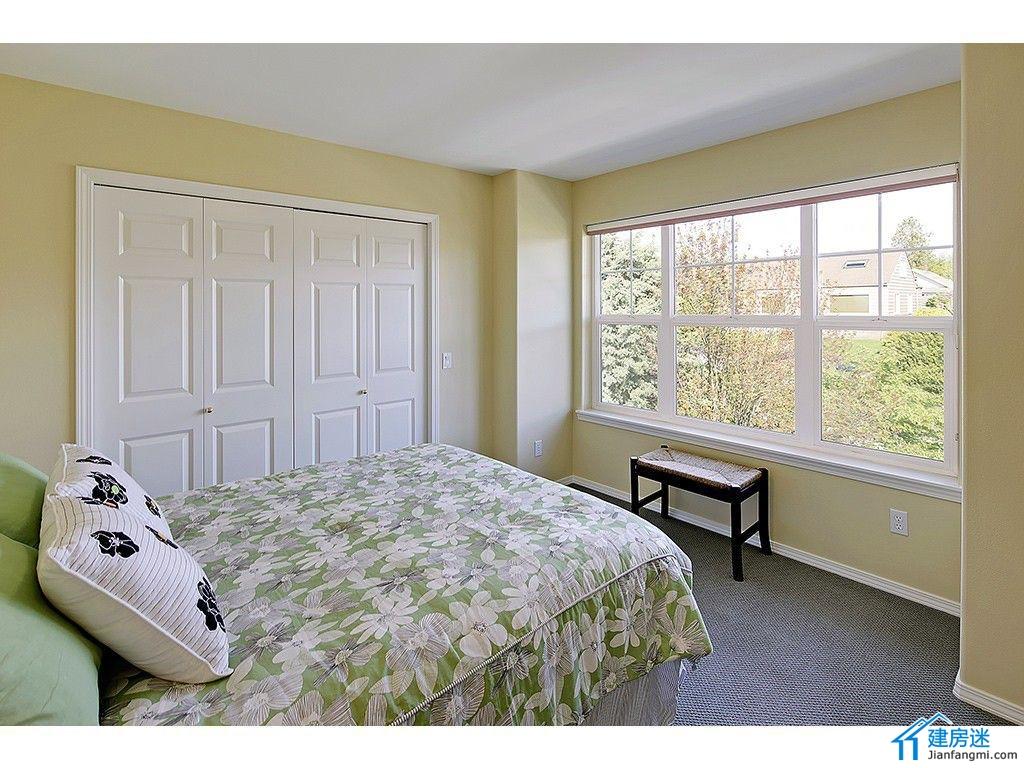 美式別墅設計欣賞,新農村自建房兩層三間圖紙參考5423  美式別墅裝修