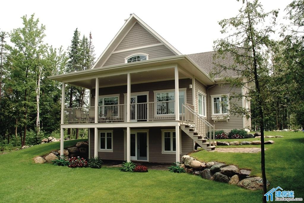 新农村自建房两层设计图