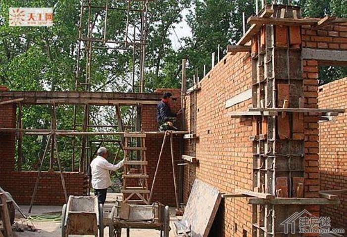 吉林农村两层四间自建房日志,北方270平米盖房总造价70万(十二)