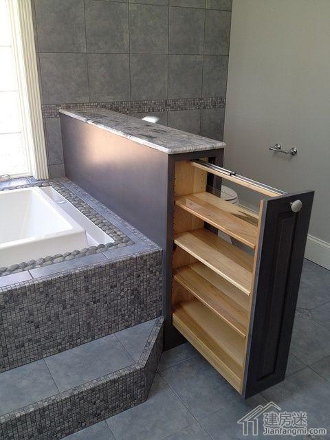 教你八招设计卫生间收纳柜的方法,卫生间装修小空间如何利用