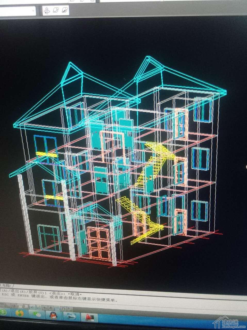 建筑三维立体图