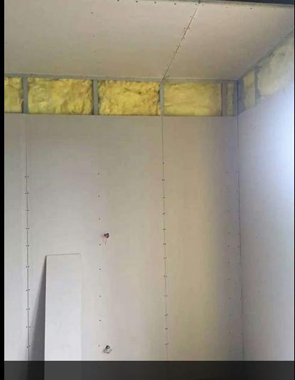 内部墙面施工