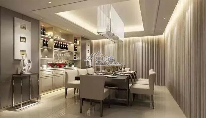 智能家居-餐厅的灯光艺术