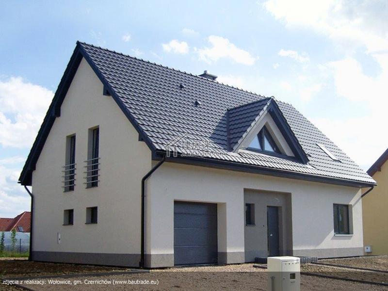 农村自建房13米X9米欧式小户型两层尖顶亚博体育苹果下载中心设计图含实拍以及视频