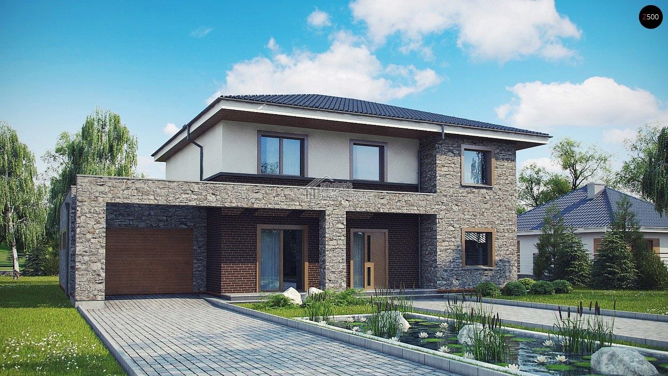 农村自建房18X14米两层带露台砖混带实拍亚博体育苹果下载中心设计图